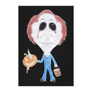 Horror Cult Movie Caricature Serial Killer Canvas Canvas Prints