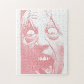 Horror Face Halloween Puzzle