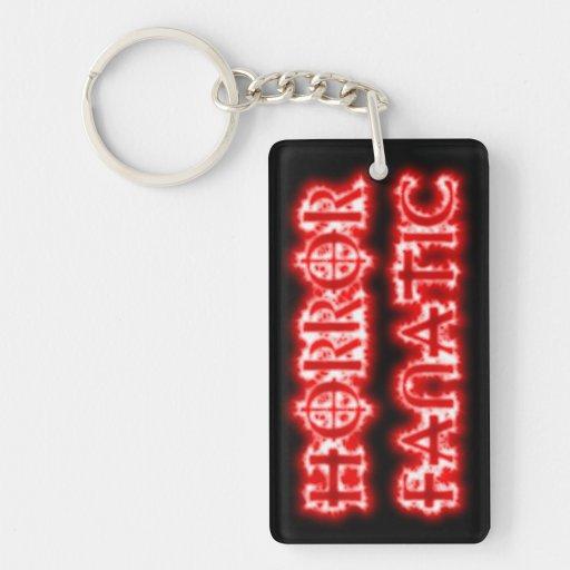 Horror Fanatic key chain