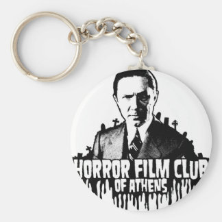 Horror Film Club of AThens Basic Round Button Key Ring
