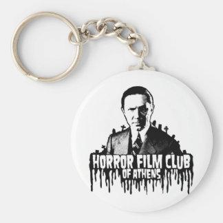 Horror Film Club of AThens Basic Round Button Key Ring