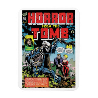 """Horror from the Tomb #1"" Magnet"