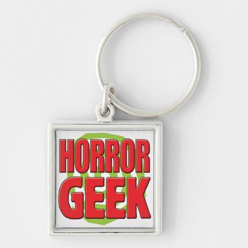 Horror Geek Keychain