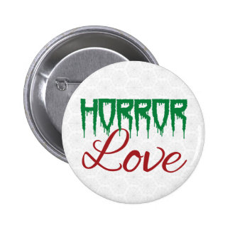 Horror Love Pinback Buttons