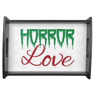 Horror Love Halloween Tray Service Tray