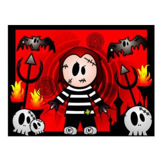 Horror Monster 5 Postcard