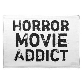 Horror Movie Addict Placemat