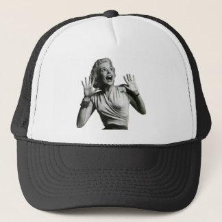 Horror Movie Screamer Trucker Hat