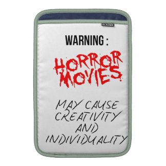 Horror Movies MacBook Sleeves