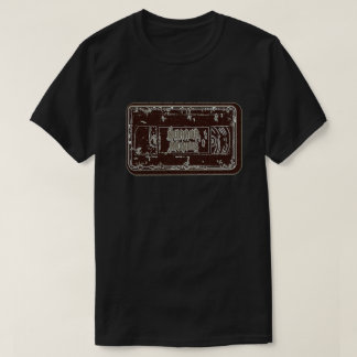 Horror Movies - Video Cassette Red Grey T-Shirt