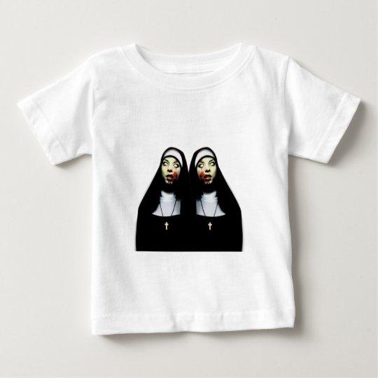 Horror nuns baby T-Shirt