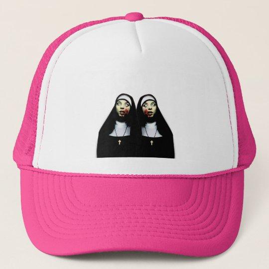 Horror nuns cap