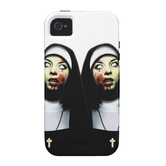 Horror nuns case for the iPhone 4