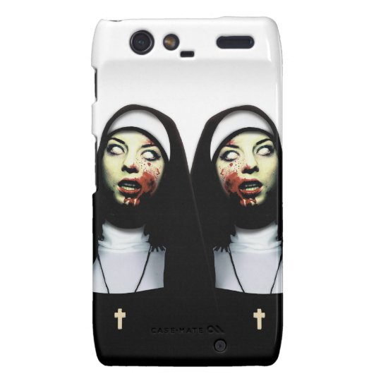 Horror nuns droid RAZR case
