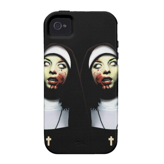 Horror nuns iPhone 4/4S cases