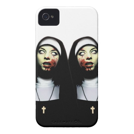 Horror nuns iPhone 4 cover