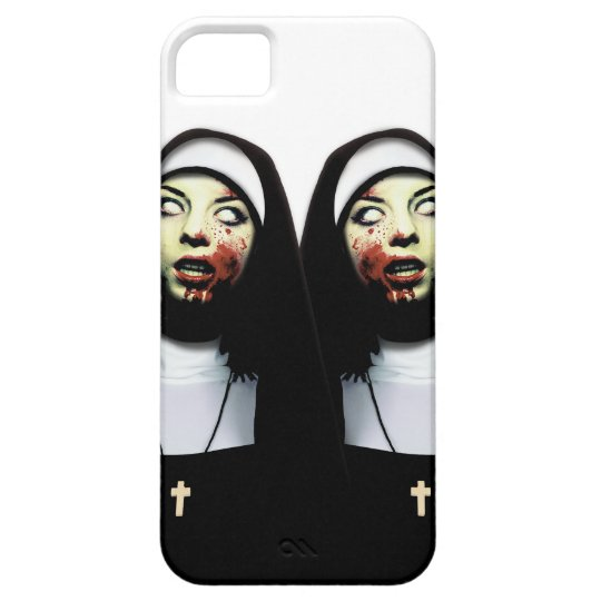 Horror nuns iPhone 5 cases