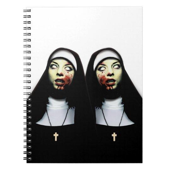 Horror nuns notebook