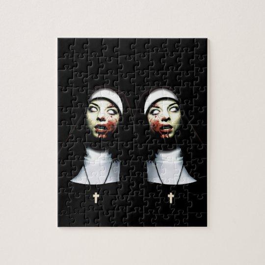Horror nuns puzzle