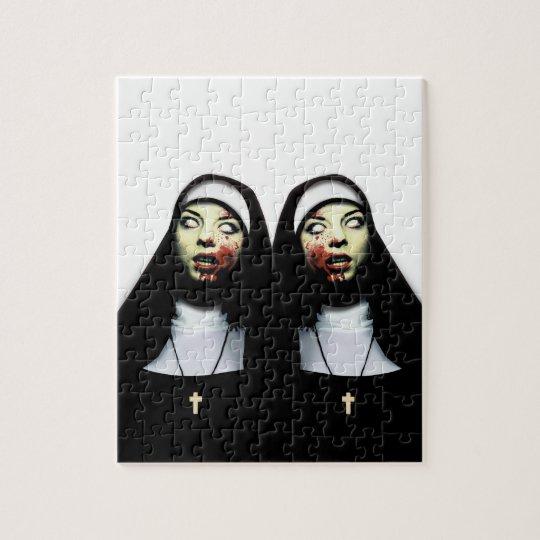 Horror nuns puzzles