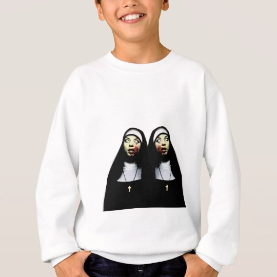 Horror nuns sweatshirt