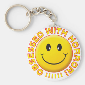 Horror Obsessed Smile Keychain