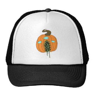 Horror Pumpkin Art Trucker Hats
