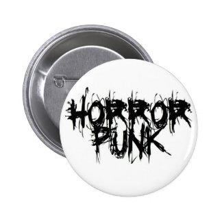 Horror Punk 6 Cm Round Badge