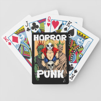 Horror Punk Bicycle Playing Cards