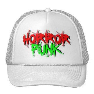 Horror Punk Trucker Hats