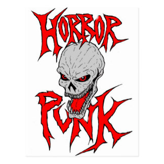 Horror Punk Postcard