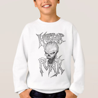 Horror Punk Skull Sweatshirt