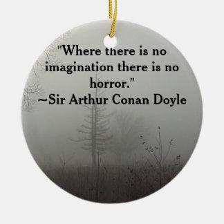Horror Quote Ornament