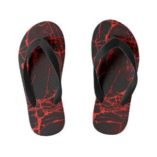 Horror Red Kid's Thongs