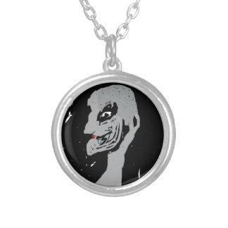 Horror Round Pendant Necklace