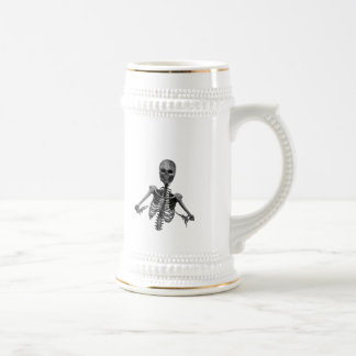 Horror Skeleton 2 Beer Stein