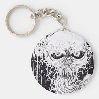 Horror Skull Art Keychains
