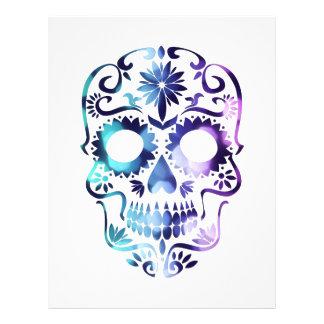 Horror Skull Symbol 21.5 Cm X 28 Cm Flyer