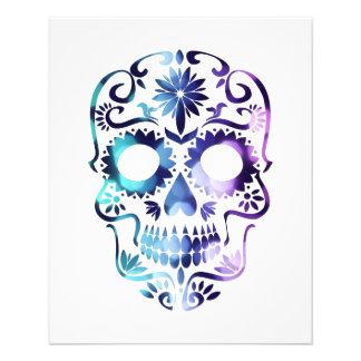Horror Skull Symbol Flyer