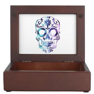 Horror Skull Symbol Keepsake Box