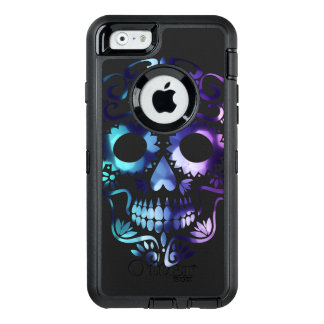 Horror Skull Symbol OtterBox Defender iPhone Case