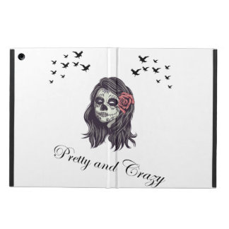 Horror Skull Women iPad Air Cover