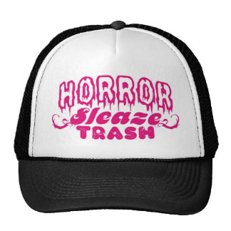 HORROR SLEAZE TRASH MERCH! CAP