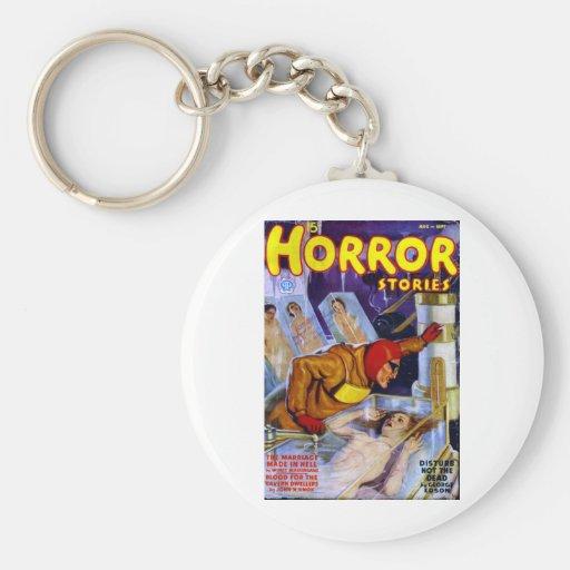 Horror Stories Key Chain