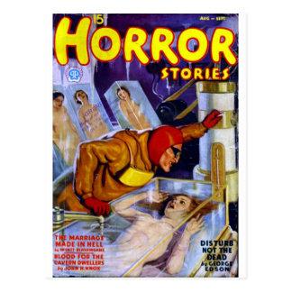 Horror Stories Postcard