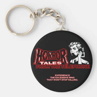 Horror Tales From The Telephone Retro Movie Ad Key Chains