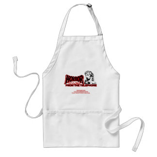 Horror Tales From The Telephone Retro Movie Ad Standard Apron