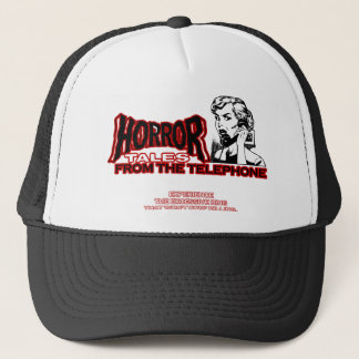 Horror Tales From The Telephone Retro Movie Ad Trucker Hat