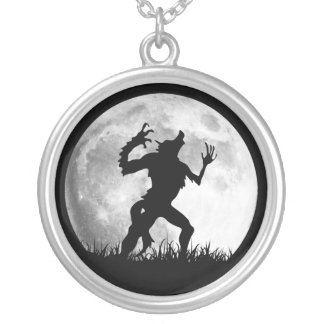 Horror Werewolf Full Moon Transformation - Cool Custom Necklace