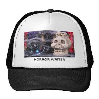 Horror writer mesh hats